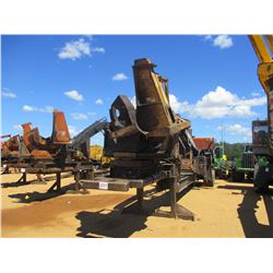 2008 BARKO 495ML LOG LOADER, VIN/SN:108495238137 - CAB, A/C, CSI DELIMBER, GROUND SAW, MTD ON TRAILE