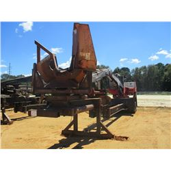 PRENTICE 384 LOG LOADER, VIN/SN:PR58984 - CAB, A/C, CTR DELIMBER, MTD ON PITTS T/A, TRAILER, S/N 727
