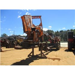 PRENTICE 280 LOG LOADER, VIN/SN:P57474 - CAB, A/C, CTR DELIMBER, MTD ON PITTS TRAILER, S/N 588, METE