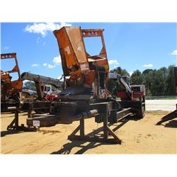 PRENTICE 310E LOG LOADER, VIN/SN:P55422 - CAB, A/C, CTR DELIMBER, MTD ON PITTS TRAILER S/N: 000362,