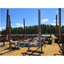 POLE LOG TRAILER, - T/A, 2 BOLSTER EXTENDABLE, 11R22.5 TIRES