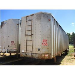 PEERLESS CHIP TRAILER, - T/S, CLOSED TOP, 40' LENGTH, HALF GATE, 11R24.5 TIRES