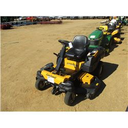 "CUB CADET Z FORCE SZ ZERO TURN MOWER, VIN/SN:1E055H40020 - 60"", METER READING 30 HOURS (C5)"
