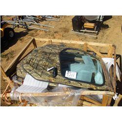 DOORS, - 1 SET FOR ENCLOSED CAB KUBOTA 1100 SIDE BY SIDE (C5)