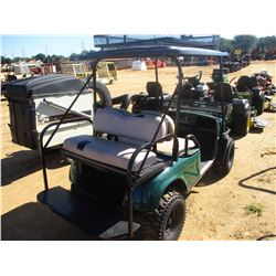 BAD BOY BUGGY GOLF CART, - ELECTRIC, REAR SEAT, CANOPY, FRONT BASKET, (CHARGER IN SECURITY OFFICE) (