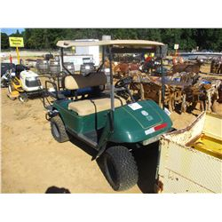 EZ GO GOLF CART, VIN/SN:1324202 - GAS ENGINE, WINDSHEILD, CANOPY, REAR SEAT (COUNTY OWNED), (C5)