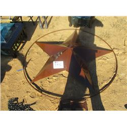 6' METAL STAR SIGN (C6)