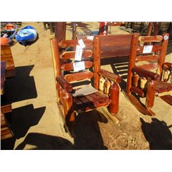 RED CEDAR ROCKING CHAIR (C6)