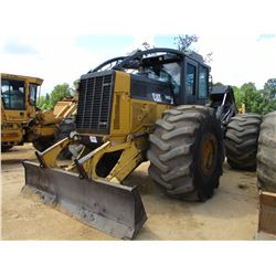 CAT 545C SKIDDER, VIN/SN:54500829 - DUAL ARCH, WINCH, CAB, A/C, 35.5L-32 TIRES, METER READING 11,329