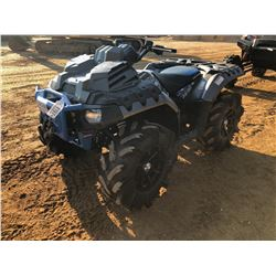 2017 POLARIS SPORTSMAN 1000 HIGH LIFTER ATV S/N HB133351
