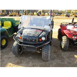 2015 EZ-GO TERRAIN 250 GOLF CART, VIN/SN:3095262 - 4X4, GAS ENGINE, WINDSHIELD, CANOPY, DUMP BODY