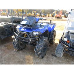 2008 KAWASAKI KV650 BRUTE FORCE ATV, - 4X4, GAS ENGINE, METER READING 296 HOURS