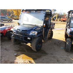2015 CUSHMAN 1600XD - 4X4, DIESEL ENGINE, CANOPY, WINDSHIELD, DUMP BED