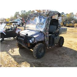 POLARIS RANGER XP700, VIN/SN:4XARD68A46D846746 - 4X4, CANOPY, BED, METER READING 167 HOURS