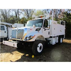 2009 INTERNATIONAL WORK STAR MECHANICS TRUCK, VIN/SN:1HTZZAAN79J068268 - S/A, IHC DIESEL ENGINE, 7 S