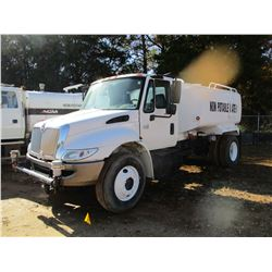 2007 INTERNATIONAL 4300 WATER TRUCK, VIN/SN:1HTMMAAL77H538410 - S/A, INTL DIESEL ENGINE, A/T, GVW 25