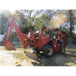 2004 DITCH WITCH RT115H TRENCHER, VIN/SN:5Y0203 - 4X4, DITCH WITCH A920 FRONT BACKHOE ATTACHMENT, DI