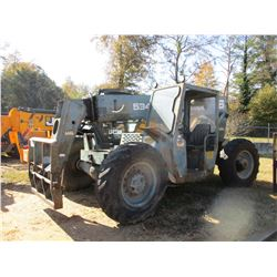 GRADALL 534C TELESCOPIC FORKLIFT, VIN/SN:0188263 - 10,000LB CAPACITY, CANOPY, 13.0-24 TIRES, 4X4