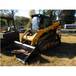 2014 CAT 299D XHP SKID STEER LOADER, VIN/SN:JST01008 - CRAWLER, HIGH FLOW, BUCKET, CAB, A/C, METER R