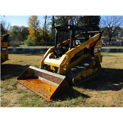 2016 CAT 289D SKID STEER LOADER, VIN/SN:TAW05669 - CRAWLER, BUCKET, CANOPY, TWO SPEED, REAR COUNTER