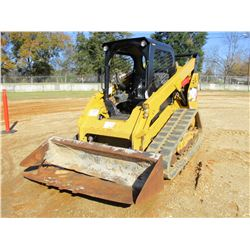 2014 CAT 289D SKID STEER LOADER, VIN/SN:TAW00995 - CRAWLER, BUCKET, CANOPY, TWO SPEED, METER READING