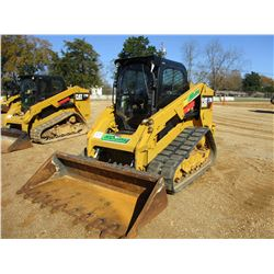 2013 CAT 279D SKID STEER LOADER, VIN/SN:GTL00329 - CRAWLER, BUCKET, CAB, A/C, TWO SPEED, METER READI