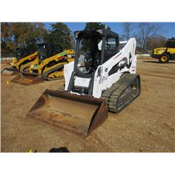 2016 BOBCAT T750 SKID STEER LOADER, VIN/SN:AT5T11663 - CRAWLER, BUCKET, CANOPY, HIGH FLOW HYD, METER