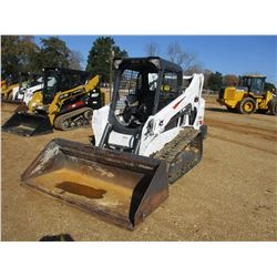 2017 BOBCAT T595 SKID STEER LOADER, VIN/SN:B3NK12175 - CRAWLER, BUCKET, CANOPY, REAR COUNTER WEIGHTS