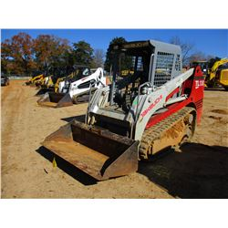 TAKEUCHI TL130 SKID STEER LOADER, VIN/SN:21309497 - CRAWLER, CANOPY, METER READING 3,255 HOURS