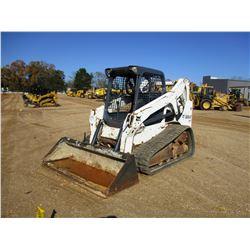2012 BOBCAT T650 SKID STEER LOADER, VIN/SN:A3P014883 - CRAWLER, CANOPY, METER READING 1,476 HOURS
