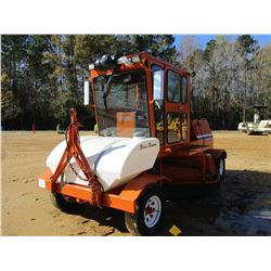 BROCE CR350 BROOM, VIN/SN:401257 - TOWABLE, WATER SYSTEM, CAB, A/C, METER READING 1,281 HOURS
