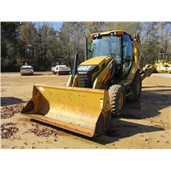 2012 CAT 430F LOADER BACKHOE, VIN/SN:RDF00261 - 4X4, E-STICK, MP BUCKET, CAB, A/C, METER READING 2,4