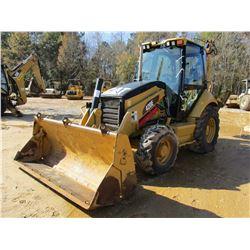 2011 CAT 420E LOADER BACKHOE, VIN/SN:DJL00997 - 4X4, E-STICK, MP BUCKET, CAB, A/C, METER READING 4,6