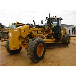2008 CAT 140M VHP MOTOR GRADER, VIN/SN:B9D01544 - 14' MOLDBOARD, PUSH BLOCK, REAR RIPPER, CAB, A/C,