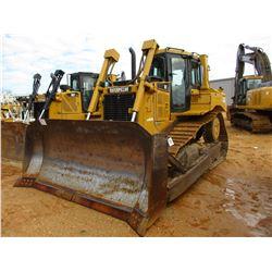 2007 CAT D6T XL CRAWLER TRACTOR, VIN/SN:LAY00626 - SEMI U BLADE W/HYD TILT, DIFF STEER, CAB, A/C, ME