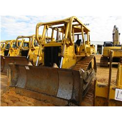 CAT D6H CRAWLER TRACTOR, VIN/SN:4PC00828 - STRAIGHT BLADE W/TILT, SWEEPS, CANOPY, REAR SCREEN