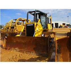 2011 KOMATSU D65PX-16 CRAWLER TRACTOR, VIN/SN:80268 - STRAIGHT BLADE W/HYD TILT, CAB, A/C, SWEEPS, S