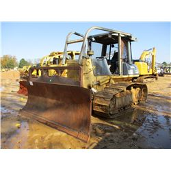 KOMATSU D61EX-12 CRAWLER TRACTOR, VIN/SN:B1787 - 6 WAY BLADE, CANOPY, SWEEPS, REAR AND SIDE SCREENS,
