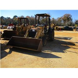 "FORD 455C LOADER BACKHOE, VIN/SN:AB14625 - GP BUCKET, 24"" HOE BUCKET, CANOPY (BAD TRANSMISSION)"