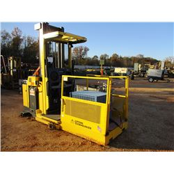 HYSTER R30M2 FORKLIFT, VIN/SN:G118N02169B - ELECTRIC, 3000# CAP, BATTERY CHARGER, 2 PERSON MAN BASKE