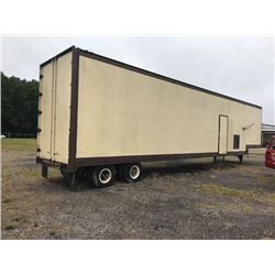 CAT 3412 GENERATOR SET, VIN/SN:2WJ01777 - TRAILER MOUNTED, 635 KW, CIRCUIT BREAKER, 1200AMP, CHARGIN