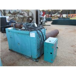 ONAN 20 GENERATOR SET, - LP/NATURAL GAS ENGINE, (B-3)