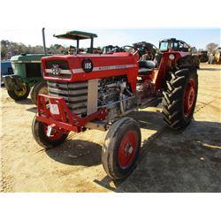 MASSEY FERGUSON 165 FARM TRACTOR, VIN/SN:9A23988 - 3 PTH, PTO, NO REMOTES