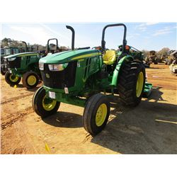 JOHN DEERE 5055E FARM TRACTOR, VIN/SN:112270 - (1) REMOTE, ROLL BAR, METER READING 863 HOURS