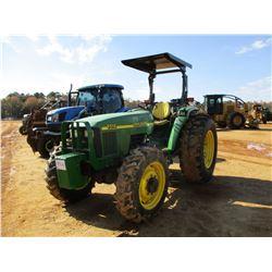 2001 JOHN DEERE 5510 FARM TRACTOR, VIN/SN:550277 - MFWD, 3 PTH, PTO, (3) HYD REMOTES, CANOPY, METER