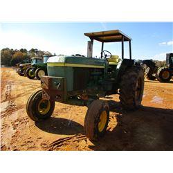 JOHN DEERE 4230 FARM TRACTOR, VIN/SN:034J33R - (2) REMOTES, CANOPY, 460/85R-34 TIRES