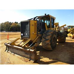 2015 TIGERCAT 620E SKIDDER, VIN/SN:6206541 - DUAL ARCH, WINCH, CAB, A/C, 30.5-32 TIRES, METER READIN
