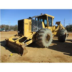 2015 TIGERCAT 620E SKIDDER, VIN/SN:6206472 - DUAL ARCH, WINCH, CAB, A/C, 30.5L-32 TIRES, METER READI