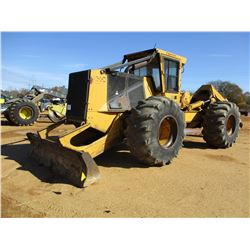 2005 TIGERCAT 620C SKIDDER, VIN/SN:6200736 - SINGLE ARCH, WINCH, CAB, A/C, 30.5-32 TIRES