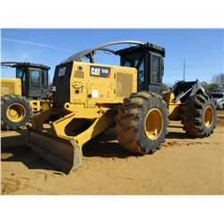 2015 CAT 525D SKIDDER, VIN/SN:GKP00212 - AINGLE ARCH, WINCH, CAB, A/C, METER READING 7,175 HOURS (EN